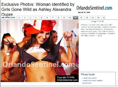 Ashley Alexandra Dupre in the Orlando Sentinel.JPG