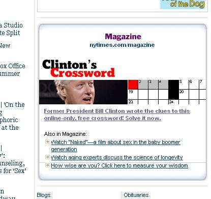 BillClintonCrosswordNewYorkTimes.JPG