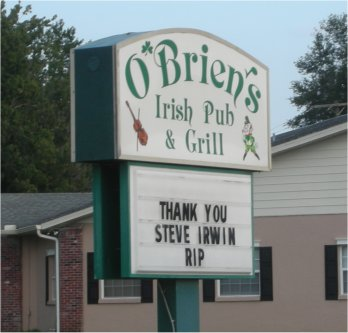 OBriensIrishPubSteveIrwinFarewellSign.jpg