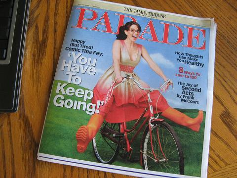 Parade Magazine with Tina Fey.JPG