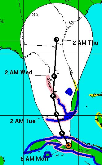 Tropical Storm Fay Path.JPG